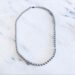 NWOT Napier Silver Ball Necklace